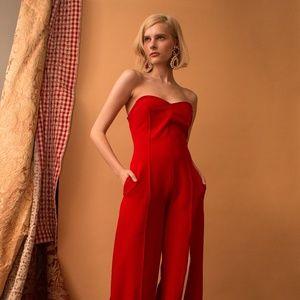 Lola Red Jumpsuit